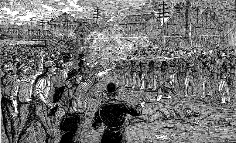 labor strikes 1875 through 1900 Typing pool at ncr corporation, ca 1890 : 1870-1900 from the era of reconstruction to the end of the 19th century, the united states underwent an economic transformation marked by the maturing of the industrial economy, the rapid expansion of big business, the development of large-scale agriculture, and the rise of national labor unions and industrial conflict.